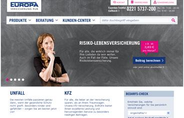 europa versicherung versicherungsrechnerat